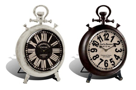 Choice of Table Clocks for R249.99 Including Delivery (49% Off)