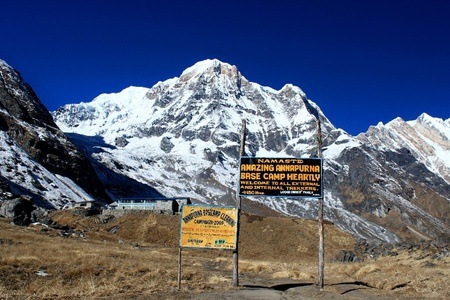Himalayas: 16-Day Annapurna Base Camp Trek with Accommodation and Optional Jungle Safari Per Person