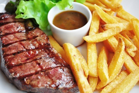 250g Fillet Steak with a Drink from R200 at Jack Rabbits (Up to 54% Off)