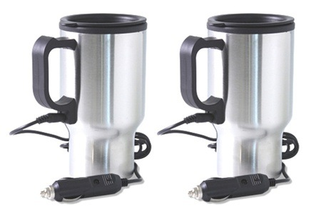 Set of Two Coffee Warmer Travel Mugs for R234.59 Including Delivery (31% Off)