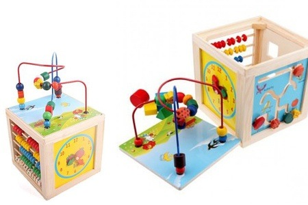 Flower/Spiral Wooden Toy for R225 Including Delivery (36% Off)