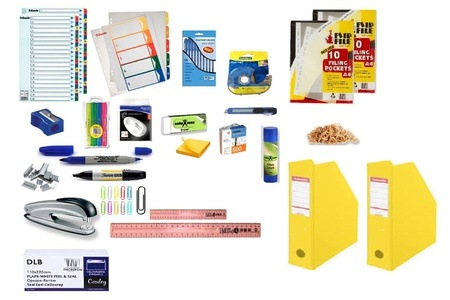 54-Piece Stationery Essentials Set for R349 Including Delivery (42% Off)
