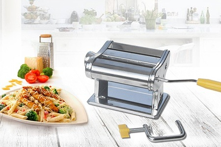 Chrome Body Pasta Maker for R309.58 Including Delivery (38% Off)