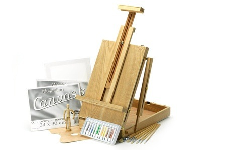 Complete Art Set, Including an Easel Case and Accessories for R795 Including Delivery (41% Off)