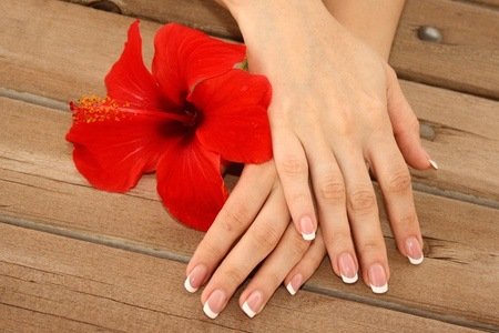 Manicure and Pedicure with Gel Overlays from R112 at Delectable Beauty Spa (Up to 65% Off)