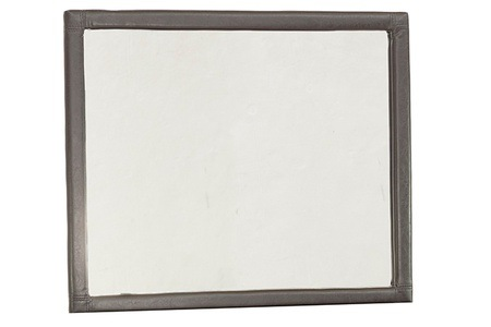 Bonded Leather Framed Mirror for R899.99 Including Delivery (31% Off)