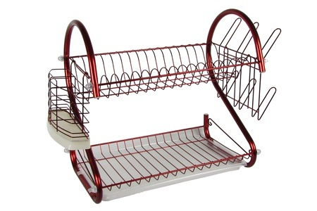 Purple or Red Dish Rack For R309.69 including Delivery (38% Off)
