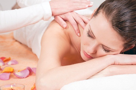 Full Body Massage, Manicure and Organic Facial from R150 at Salon Béllezà (Up to 60% Off)