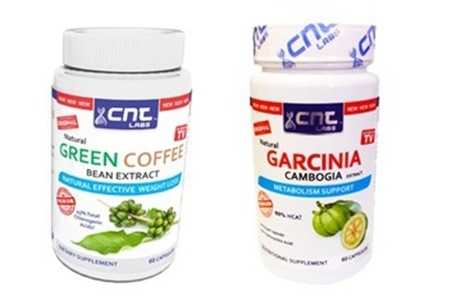 Garcinia Cambogia and Green Coffee Bean Extracts For R199 Including Delivery (38% Off)