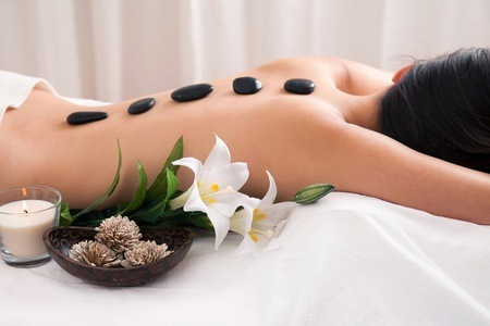 Hot Stone Massage, Facial and Manicure From R136 at Fabu-Health (Up To 65% Off)