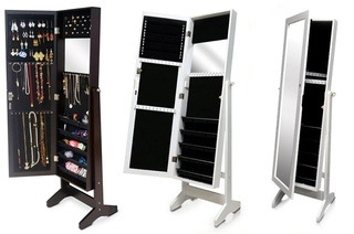 Full length Dressing Mirror with Jewellery Cabinet for R1 499 Including  Delivery (50% Off