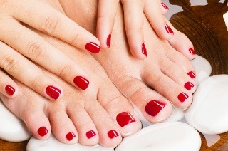 Spa Manicure or Pedicure from R112 at Hoi Polloi Beauty (Up to 60% Off)