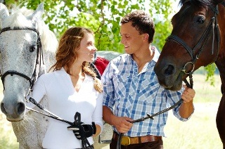Horse Experience and Wine Tasting for Two People for R550 at Alpha Equestrian (50% Off)