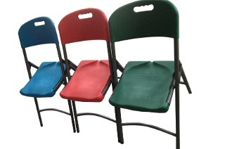Two Folding Trestle Chairs for R539 Including Delivery (46% Off)