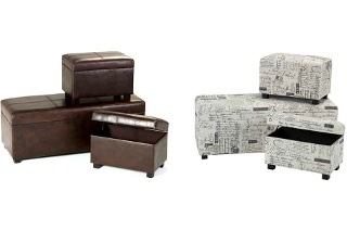 Three-Piece Ottoman Set for R1 899 Including Delivery (37% Off)