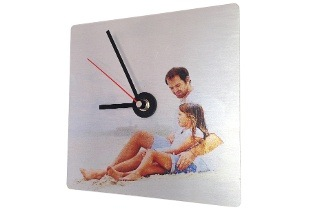 Personalised Aluminium Wall Clocks for R149 with Printstagram (50% Off)
