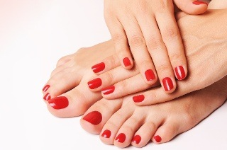 Deluxe Manicure or Pedicure with Gel Polish from R99 at PnR Beauty Spa (Up to 60% Off)
