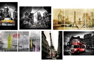 Scenic Wall Art Canvas Prints from R229 Including Delivery (50% Off)