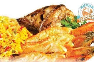 Quarter Leg Chicken and Prawn Combo for Two People for R120 at Adega Express Pavilion (40% Off)