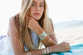 Metallic Tattoo Jewellery Set for R249 Including Delivery (50% Off)