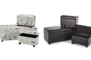 Three-Piece Ottoman Set for R1 699 Including Delivery (43% Off)