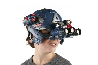 Marvel Captain America Super Soldier Gear Battle Helmet for R639 Including Delivery (32% Off)