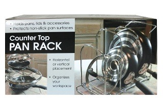 Counter Top Pan Rack for R249 Including Delivery (27% Off)
