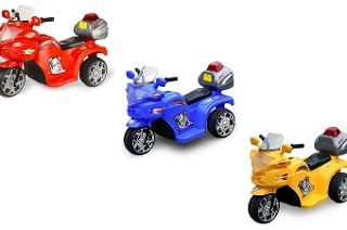 Battery-Powered Ride-On Police Motorcycle Bike for R599 Including Delivery (50% Off)