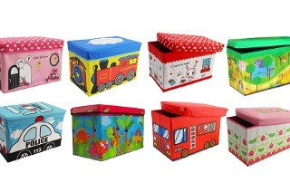 Kids Storage Ottoman from R215 Including Delivery (Up to 50% Off)