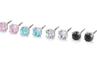 Swarovski Elements 6mm Stud Earrings from R149 Including Delivery (Up to 63% Off)