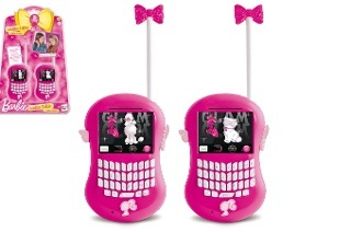 Barbie Walkie-Talkie for R399.95 Including Delivery (14% Off)