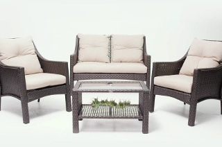 On The Patio Sedona Four-Piece Sofa Set for R10 999 Including Delivery (21% Off)