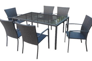 On The Patio Outdoor Cabana Six-Seater Dining Set for R8 500 Including Delivery (23% Off)
