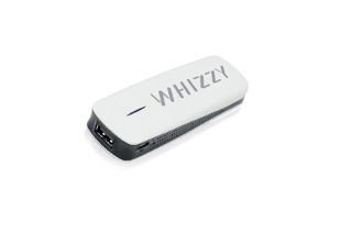 Whizzy 1800mAh Battery Bank and Wi-Fi Router for R269 Including Delivert (33% Off)