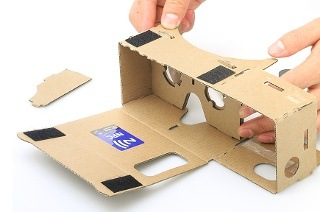 DIY 3D Google Cardboard Glasses Mobile Phone Virtual Reality for R179 Including Delivery (28% Off)