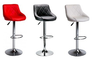 Quilted PU Bar Chair for R649 Including Delivery (35% Off)