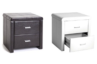 Two-Drawer Leatherette Pedestal for R999 Including Delivery (23% Off)