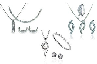 Swarovski Elements Trio Set from R319 Including Delivery (Up to 57% Off)