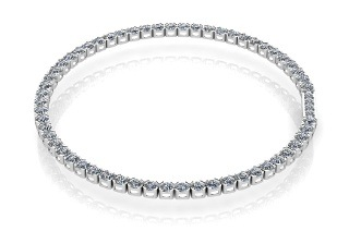Silver-Plated Tennis Bracelet for R399 Including Delivery (43% Off)