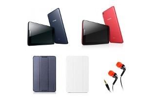 Lenovo 8 3G Tablet with Cover, Film and Astrum Earphones from R1 499 Including Delivery (50% Off)