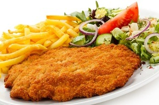 Chicken Schnitzel with Sides from R69 at Bonamia on Main (Up to 54% Off)