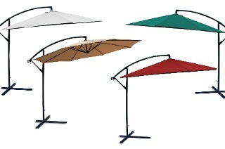 Fine Living Cantilever Umbrella for R999 Including Delivery (62% Off)