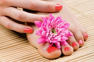 Manicure or Pedicure with Gelish Overlay from R125 at Be-Dazzle Hair & Beauty (Up to 55% Off)