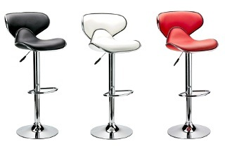 Contemporary PU Bar Chairs for R649 Including Delivery (35% Off)