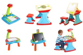 Projector or Learning Desk for Kids from R279 Including Delivery (Up to 54% Off)