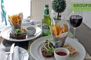 Steak and Glass of Wine or Beer from R175 at Saveur Restaurant (Up to 54% Off)
