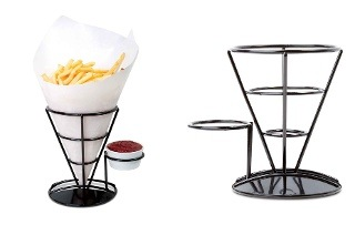 Wire French Fry Holder with Sauce Stand from R125 Including Delivery (Up to 55% Off)