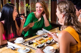 Trio of Starters and Sushi Platters or Mains and Desserts from R135 at Hashi Fusion Japanese Cuisine (Up to 52% Off)