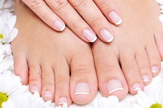Manicure or Pedicure with Gel Overlays from R99 at Unique Beauty Salon (Up to 67% Off)