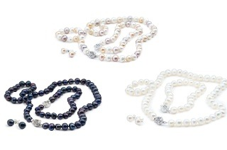 Zenzhu Freshwater Semi-Baroque Pearl Set for R399 Including Delivery (43% Off)